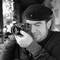 Portrait of photographer Rudy Giron